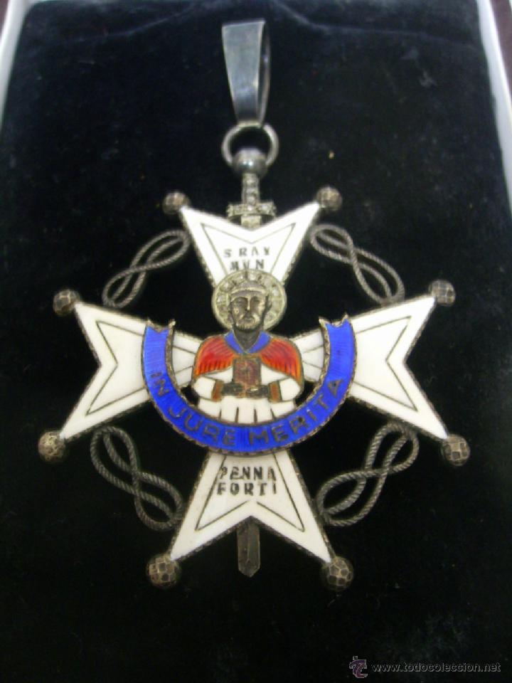 Militaria: Encomienda de la Orden de San Raimundo de Peñafort..Época de Franco - Foto 2 - 40151403