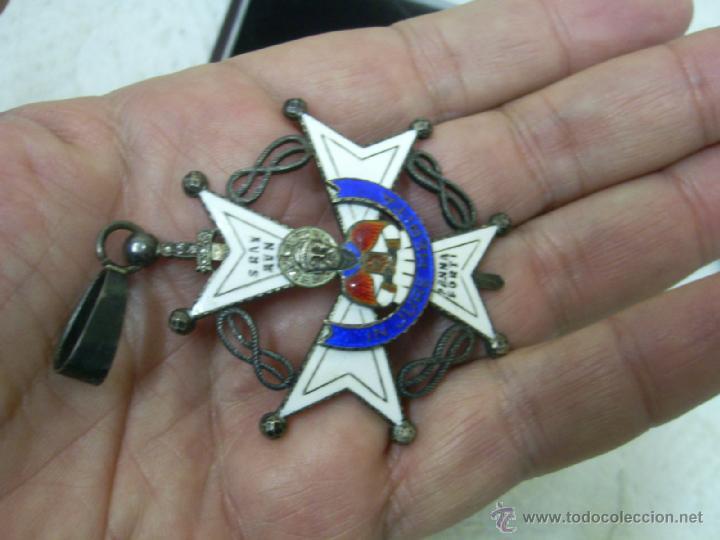 Militaria: Encomienda de la Orden de San Raimundo de Peñafort..Época de Franco - Foto 3 - 40151403