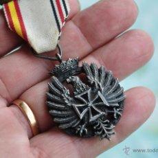 Militaria: DIVISION AZUL, MEDALLA DE TRES PIEZAS O R I G I N A L.. Lote 40173222