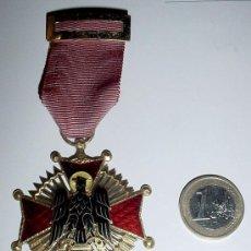 Militaria: CRUZ DE CABALLERO - ORDEN DE CISNEROS 1944 - FRANCO - ESMALTADA AL FUEGO, MUY BONITA. GALARDÓN AL MÉ. Lote 38242973