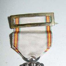 Militaria: MEDALLA DE LA PAZ DE MARRUECOS, 1927. EJEMPLAR COMPLETO, CON SU PASADOR. . SIN ESTRELLA,. Lote 38244002