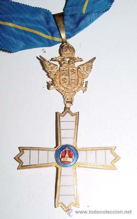 CRUZ DE LA HERMANDAD DE CABALLEROS Y DAMAS MOZARABES DE TOLEDO, ANTIGUO LAZO DE DAMA DE LA CRUZ DE (Militar - Medallas Españolas Originales )