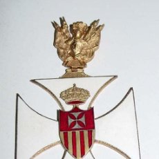 Militaria: ORDER SILVER & ENAMEL. FINE QUALITY. WITH LAPEL MINIATURE. VENERA COMENDADOR CUELLO DE LA ORD. Lote 38244010