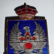 Militaria: ANTIGUA INSIGNIA O EMBLEMA ESMALTADO DE OFICIAL DE ALMIRANTE OFICIAL DE LA ARMADA ESPAÑOLA DEL ALTO. Lote 38244264