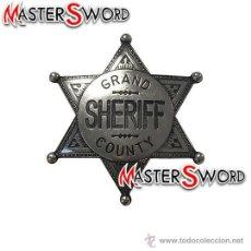 Militaria: INSIGNIA PLACA BROCHE SHERIFF. 8 CMS. Lote 44427445