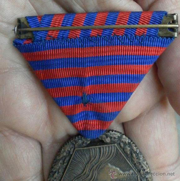 Militaria: Medalla del trabajo. Época Alfonso XIII. Muy buena calidad. - Foto 5 - 40383413