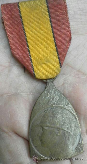 BÉLGICA. CONDECORACIÓN A CATALOGAR. (Militar - Medallas Internacionales Originales)