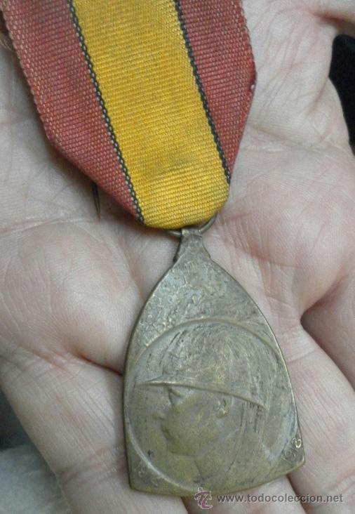Militaria: Bélgica. Condecoración a catalogar. - Foto 2 - 40383642