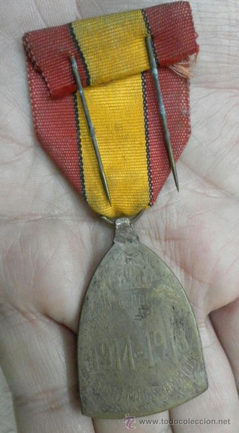 Militaria: Bélgica. Condecoración a catalogar. - Foto 3 - 40383642