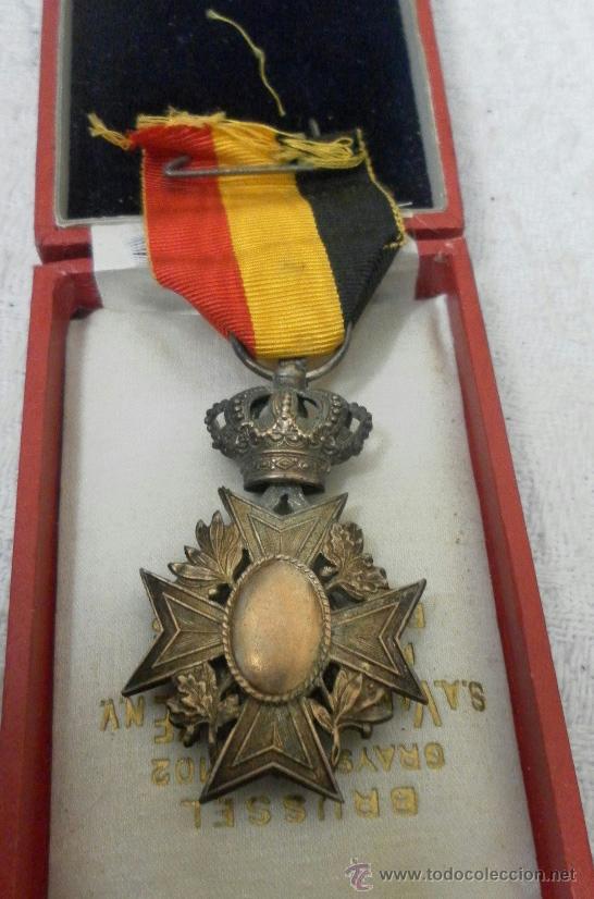 Militaria: Bélgica. Medalla a catalogar. En su caja. - Foto 4 - 40384347