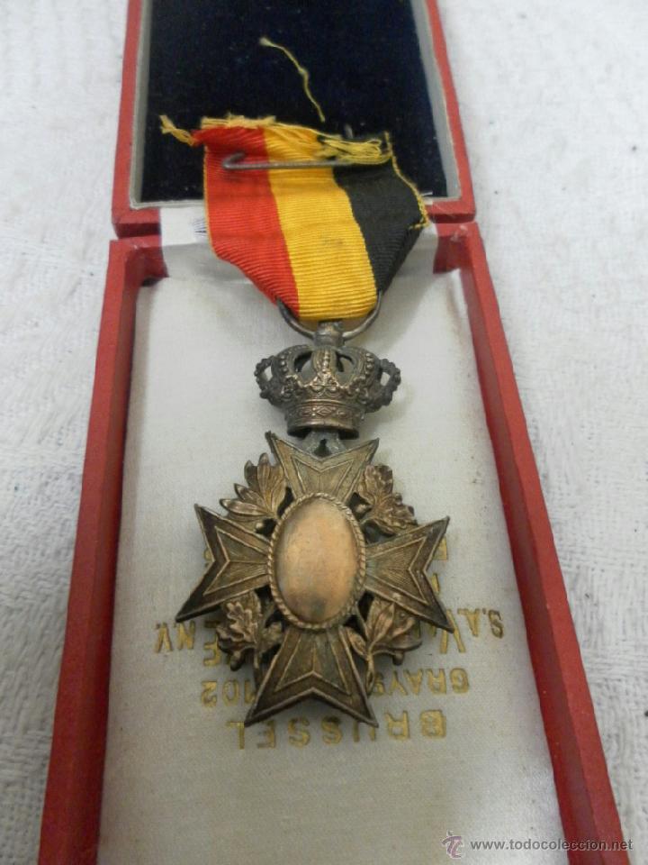 Militaria: Bélgica. Medalla a catalogar. En su caja. - Foto 5 - 40384347