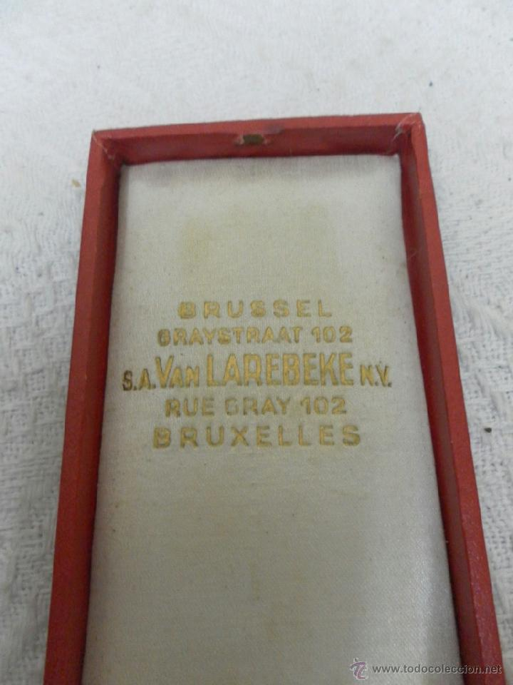 Militaria: Bélgica. Medalla a catalogar. En su caja. - Foto 6 - 40384347