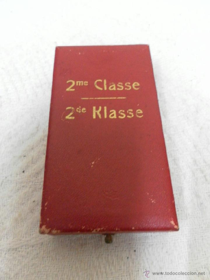 Militaria: Bélgica. Medalla a catalogar. En su caja. - Foto 7 - 40384347