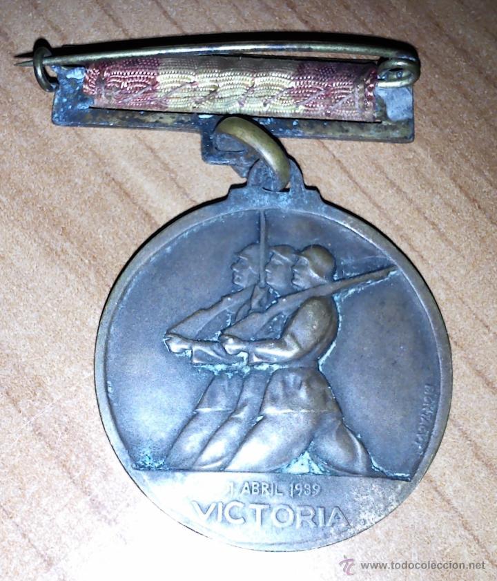 Militaria: Medalla alzamiento. - Foto 2 - 40413038