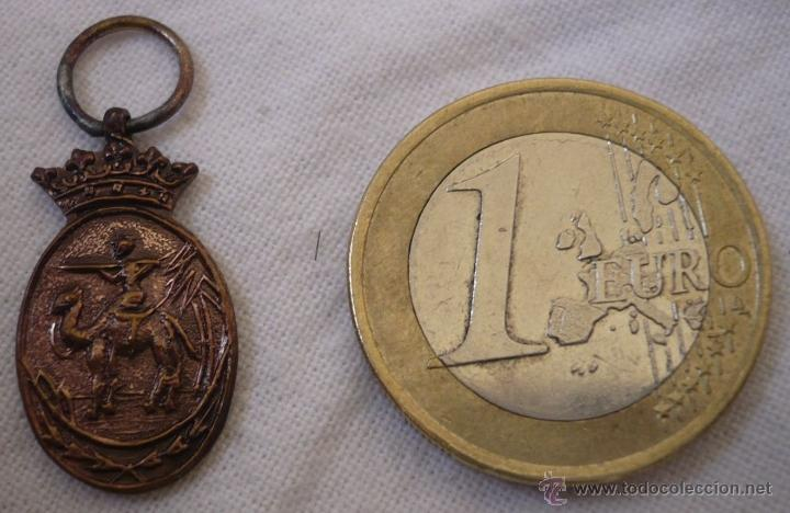 MINIATURA DE LA MEDALLA DE LA CAMPAÑA IFNI-SAHARA PARA TROPA (Militar - Medallas Españolas Originales )