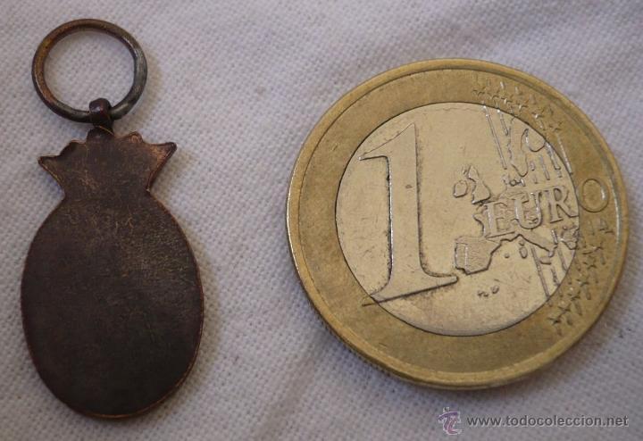 Militaria: Miniatura de la medalla de la campaña Ifni-Sahara para tropa - Foto 2 - 102155123