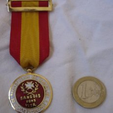 Militaria: MEDALLA AL SERVICIO DE TRANSFUSIÓN DE SANGRE DEL EJERCITO - DONANTE DE SANGRE (SANGUIS FONS VITAE). Lote 53941642