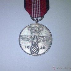 Militaria: MEDALLA JUEGOS OLIMPICOS BERLIN 1936. Lote 40805779