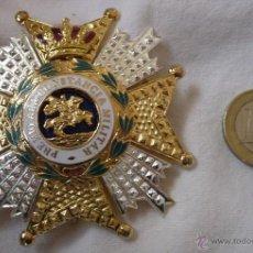 Militaria: PLACA GRAN CRUZ DE LA REAL Y MILITAR ORDEN DE SAN HERMENEGILDO - PREMIO CONSTANCIA MILITAR. Lote 98679135