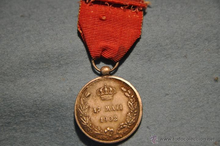 Militaria: MEDALLA ALFONSO XIII CAT. PLATA. - Foto 4 - 40977226