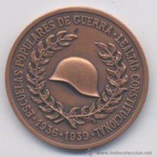 Militaria: ESCUELAS POPULARES DE GUERRA. Lote 40995473