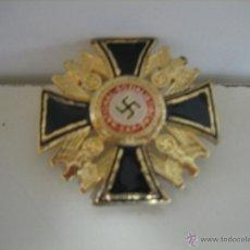 Militaria: INSIGNIA III REICH ALEMANIA NATIONAL SOZIALISTISCHE ESVASTICA. REPLICA. Lote 41007250