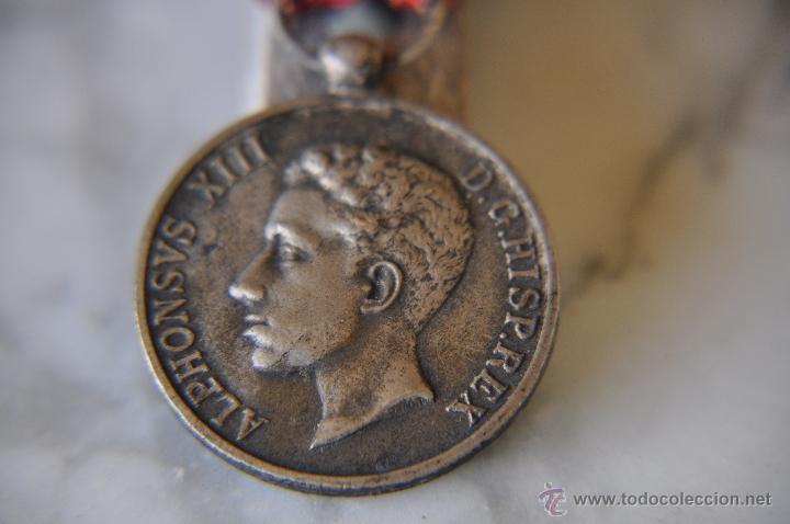 Militaria: MEDALLA ALFONSO XIII CAT. PLATA. - Foto 5 - 40977226