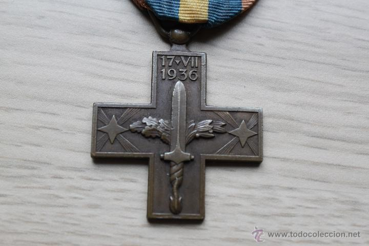 CRUZ DE GUERRA ITALIANA EN GUERRA CIVIL (Militar - Medallas Españolas Originales )