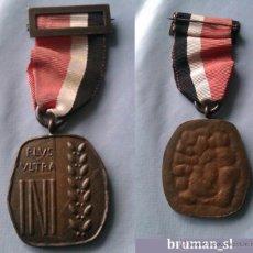 Militaria: MEDALLA DE BRONCE- PLVS VLTRA INI - AÑOS 50-60. Lote 41298890