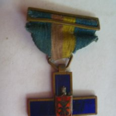 Militaria: GUERRA CIVIL: MEDALLA ITALIANA DE LAS FLECHAS AZULES . FALANGE , CTV. Lote 41440422