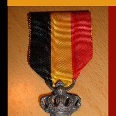 Militaria: CONDECORACION DE BELGICA - PLATA DEL MERITO AL TRABAJO - II GUERRA MUNDIAL. Lote 41658055