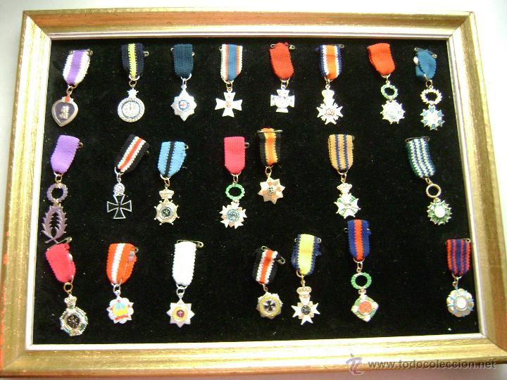 COLECCION INFANTIL DE MEDALLAS MILITARES (Militar - Reproducciones y Réplicas de Medallas )