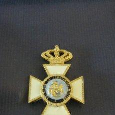 Militaria: MEDALLA CRUZ Y CORONA, PREMIO A LA CONSTANCIA MILITAR, F VII ENCOMIENDA DE SAN HERMENEGILDO. Lote 42176130