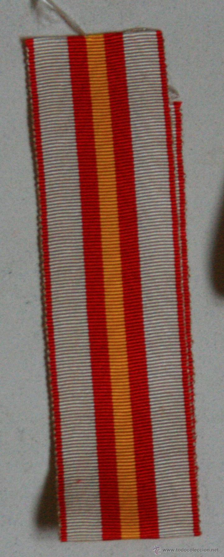 CINTA DE CONDECORACION (Militar - Cintas de Medallas y Pasadores)