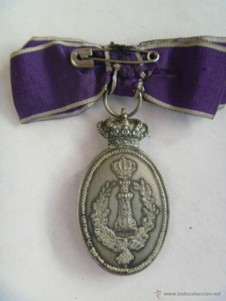 Militaria: MEDALLA DE LA ASOCIACION DE DAMAS DE SAN FERNANDO , ARMA DE INGENIEROS - MONARQUIA - Foto 2 - 42375652