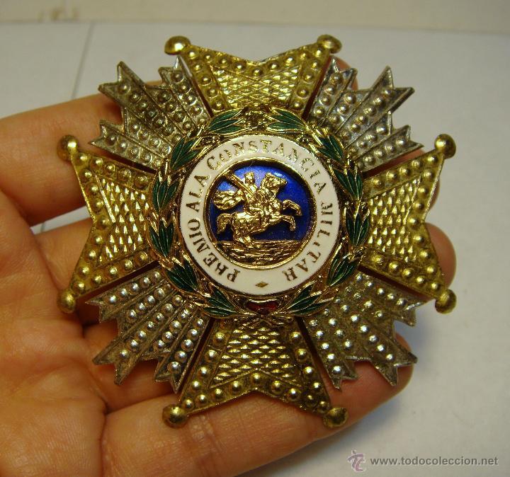 PLACA DE LA ORDEN DE SAN HERMENEGILDO. ÉPOCA DE JUAN CARLOS I. ESMALTES. (Militar - Medallas Españolas Originales )