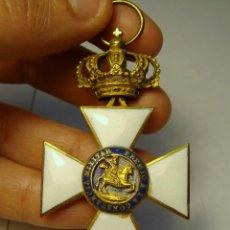 Militaria: CRUZ DE LA ORDEN DE SAN HERMENEGILDO. ÉPOCA DE ALFONSO XII.. Lote 42399498