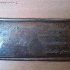 Militaria: MUTILADO DE GUERRA POR LA PATRIA 1936 FRANCO- I CAMPEONATO MINUSVALIDOS IV TROFEO SUPERACION 1969. Lote 42500968
