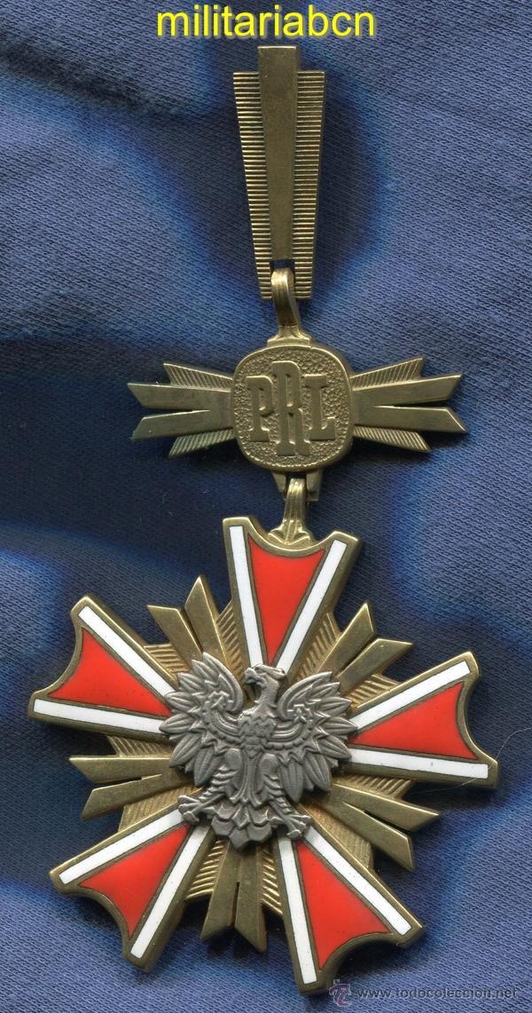 POLONIA. ORDEN DEL MÉRITO DE LA REPÚBLICA POPULAR. CRUZ DE LA GRAN CRUZ. (Militar - Medallas Extranjeras Originales)