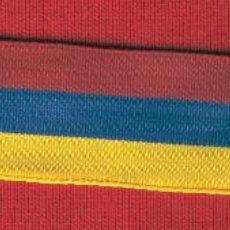 Militaria: 20 MTS.. CINTA CONDECORACIÓN DE 2.5 CM. DE ANCHO COLORES BANDERA DE VENEZUELA. Lote 194281293