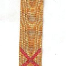 Militaria: 0,95 CMTS. CINTA MEDALLA CAMPAÑA DEL RIF AÑOS 1909-1911-1912. Lote 210621783