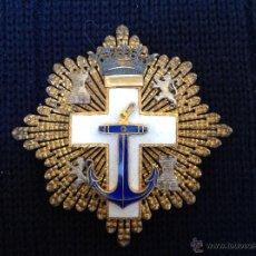 Militaria: GRAN CRUZ AL MÉRITO NAVAL DISTINTIVO BLANCO. Lote 42897491