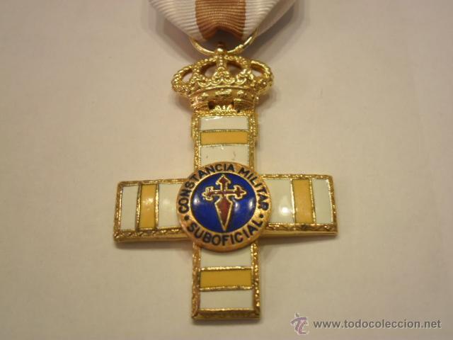 MEDALLA CONSTANCIA MILITAR SUBOFICIAL PENSIONADA (4 BARRAS)-MODELO JUAN CARLOS I- OBSOLETA- (Militar - Medallas Españolas Originales )