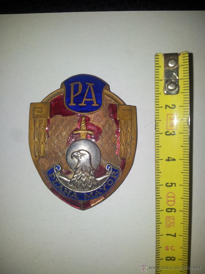 PLACA POLICIA ARMANDA POLICIA ANTIGUA NACIONAL COLECCION PLACA POLICIA PLACA ORIGINAL ESPAÑA (Militar - Medallas Españolas Originales )