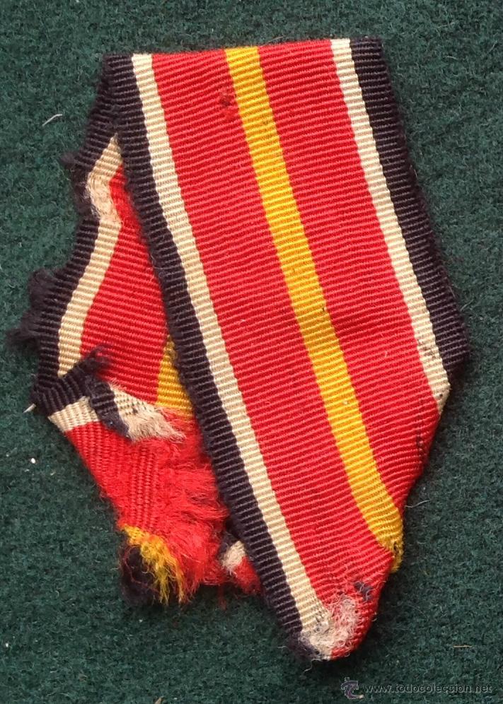 CINTA PARA MEDALLA - DIVISIÓN AZUL (Militar - Cintas de Medallas y Pasadores)