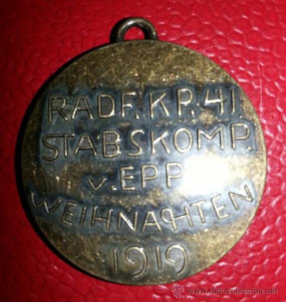 Militaria: Medalla de los Freikorps von Epp 1919 - Foto 2 - 43400165