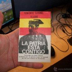 Militaria: GUARDIA CIVIL TEJERO!PROPAGANDA DE LA EPOCA!PAPEL PEGATINA!. Lote 43400850