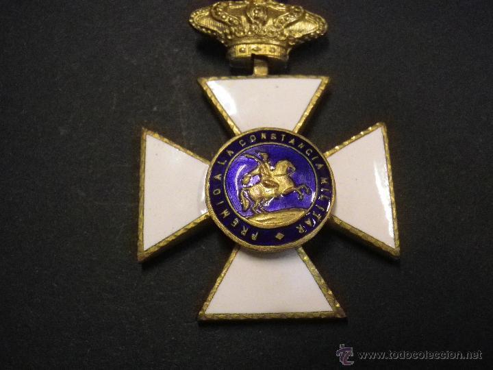MEDALLA PREMIO A LA CONSTANCIA MILITAR (Militar - Medallas Españolas Originales )
