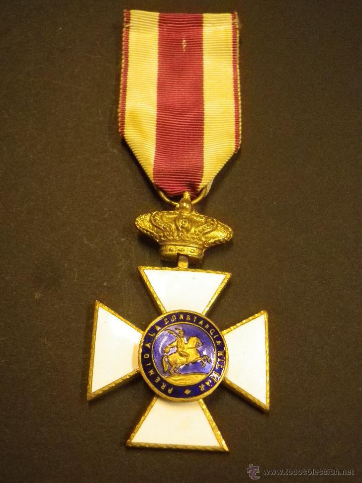 Militaria: Medalla Premio a la Constancia Militar - Foto 2 - 43508813