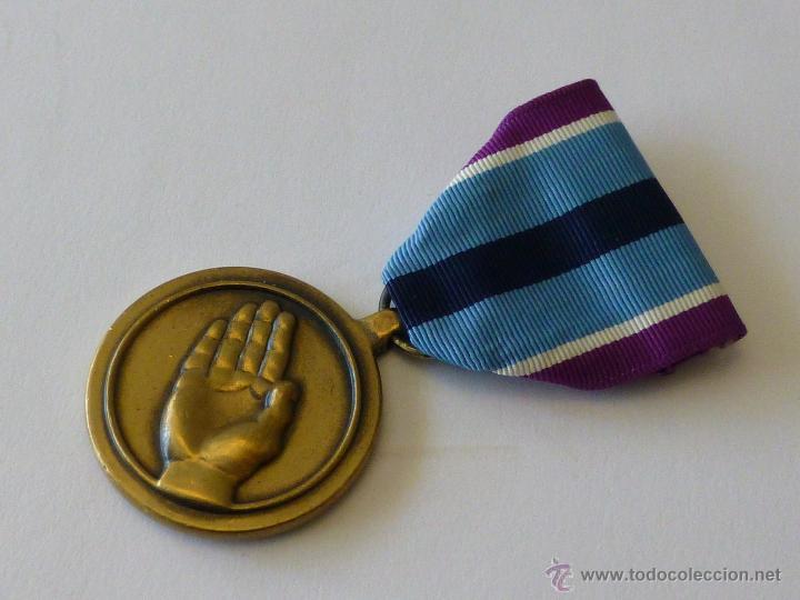 MEDALLA MILITAR ESTADOUNIDENSE POR SERVICIO HUMANITARIO (Militar - Medallas Extranjeras Originales)